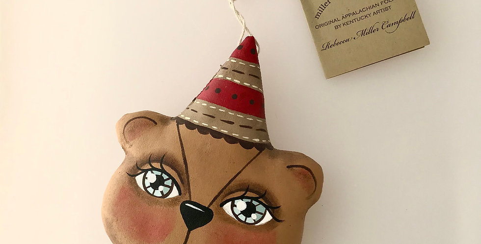 Rebecca Miller-Campbell Bear Ornament 3926-2