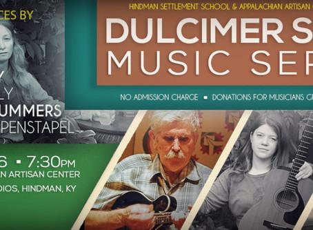 Season's LAST Dulcimer Shop Series – Thursday, May 26th!