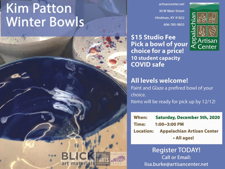 Winter Bowls with Kim Patton