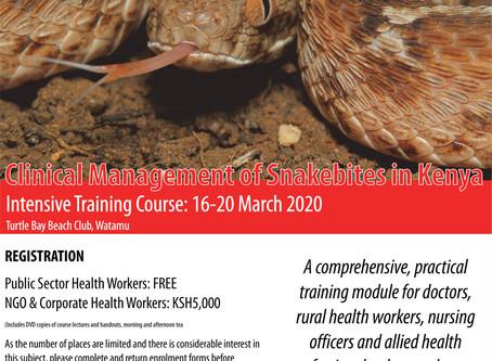 Clinical Management of Snakebites in Kenya