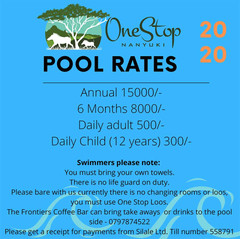 Pool Rates 2020