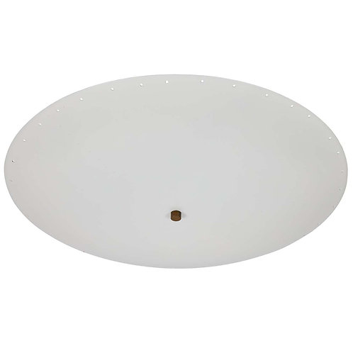'Nena' Perforated Dome Ceiling Lamp by Alvaro Benitez