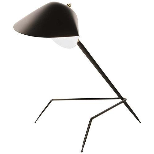 Serge Mouille 'Lampe Tripode' Table Lamp