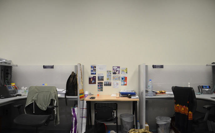 Where the work happens!