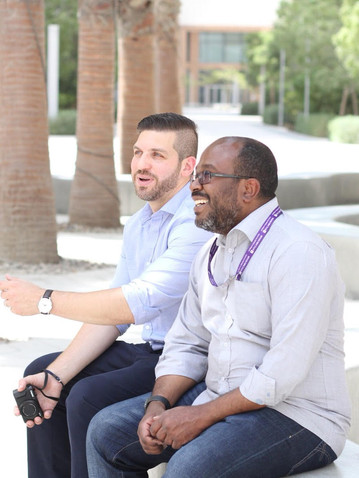 Ibrahim Chehade (left)