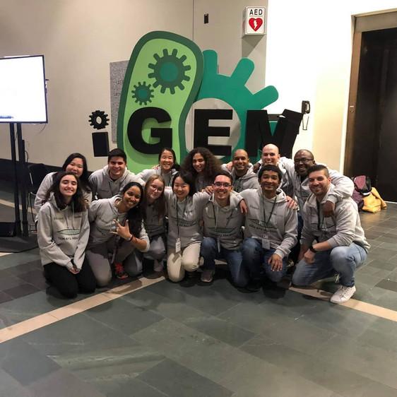 the iGEM team