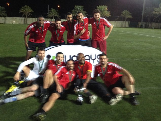Mazin and his football team