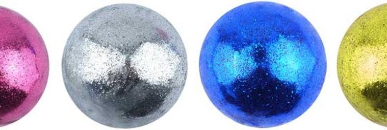 Glitter Splat Ball With Beads