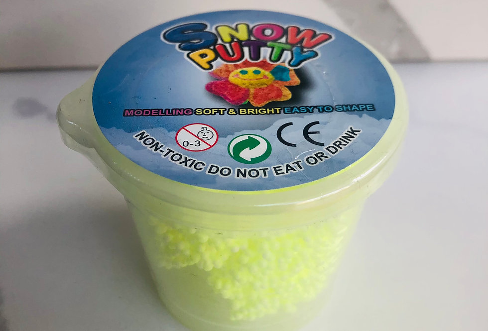 Bouncing Snow Putty