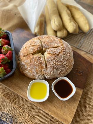 Pan artesanal de corteza crocante