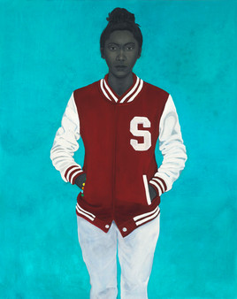 Varsity Girl by Amy Sherald