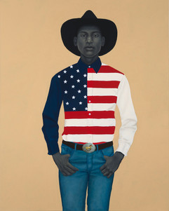 Flag Shirt by Amy Sherald