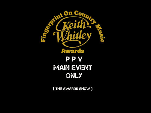 KEITH WHITLEY FINGERPRINT ON COUNTRY MUSIC AWARDS  LIVE ACCESS
