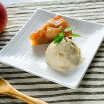 米粉のタルトタタン~玄米アイスクリーム添え~.jpg