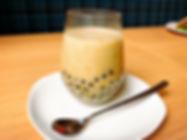 和歌山有機ほうじ茶のタピオカライスミルクティー.JPG
