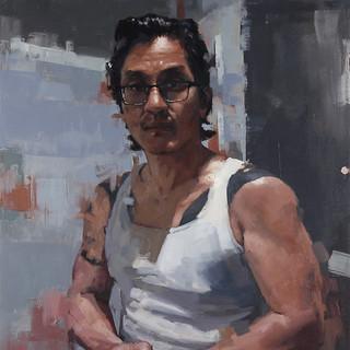 Self Portrait in Self Isolation