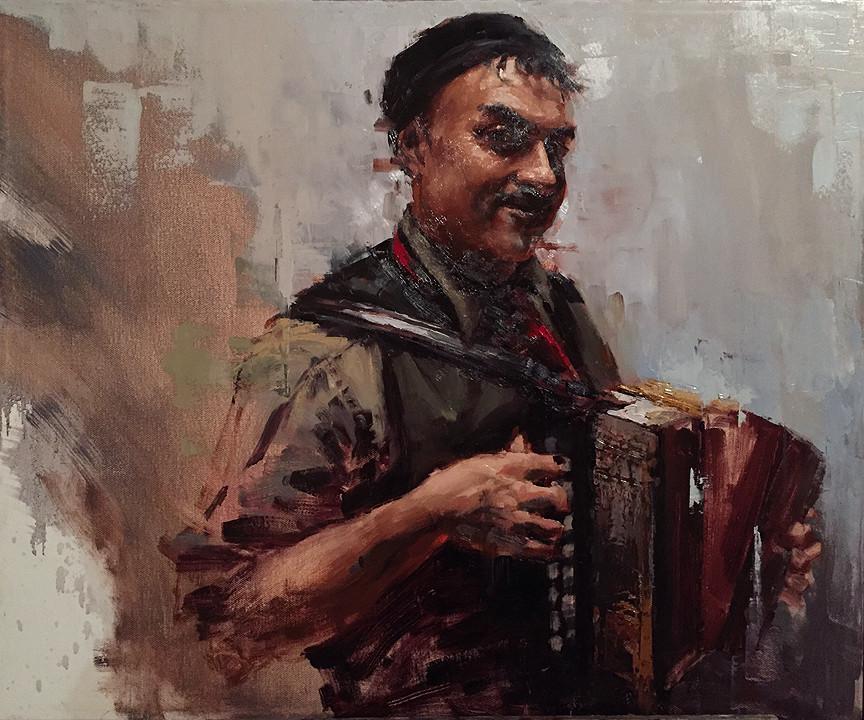 Artistic Evolution Through Portrait Painting | Half Clown, Half Pirate, Half Prince Stage 3