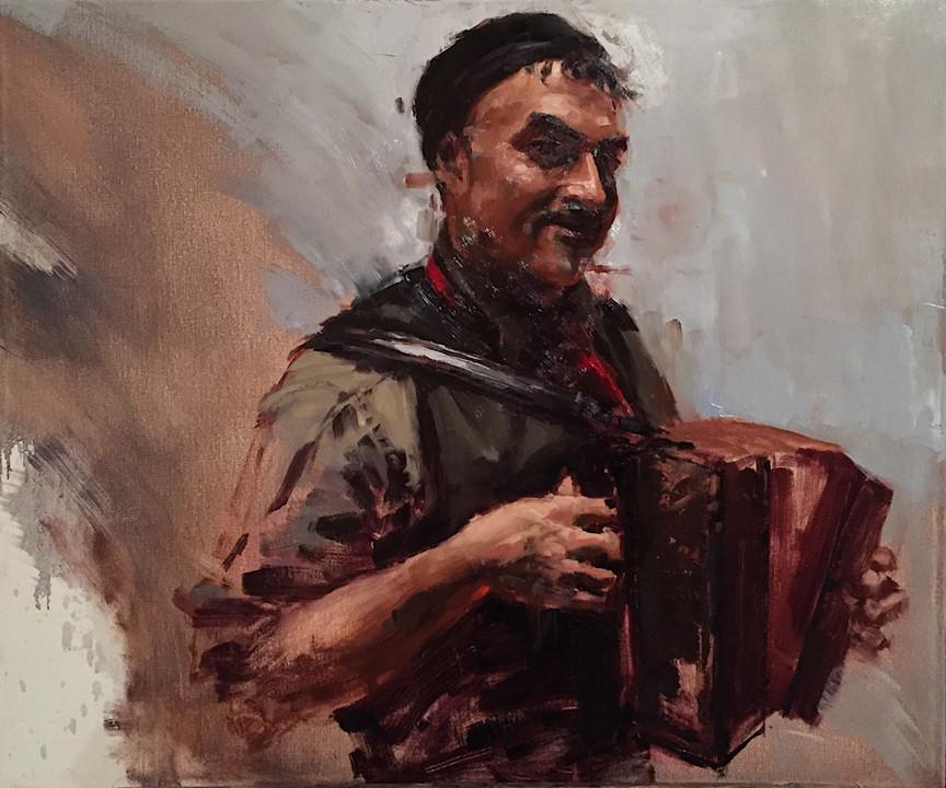Artistic Evolution Through Portrait Painting | Half Clown, Half Pirate, Half Prince Stage 2