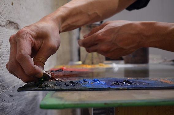 San Francisco oil painter, Calvin Lai, has unique oil paintings for sale and is a commission portrait artist