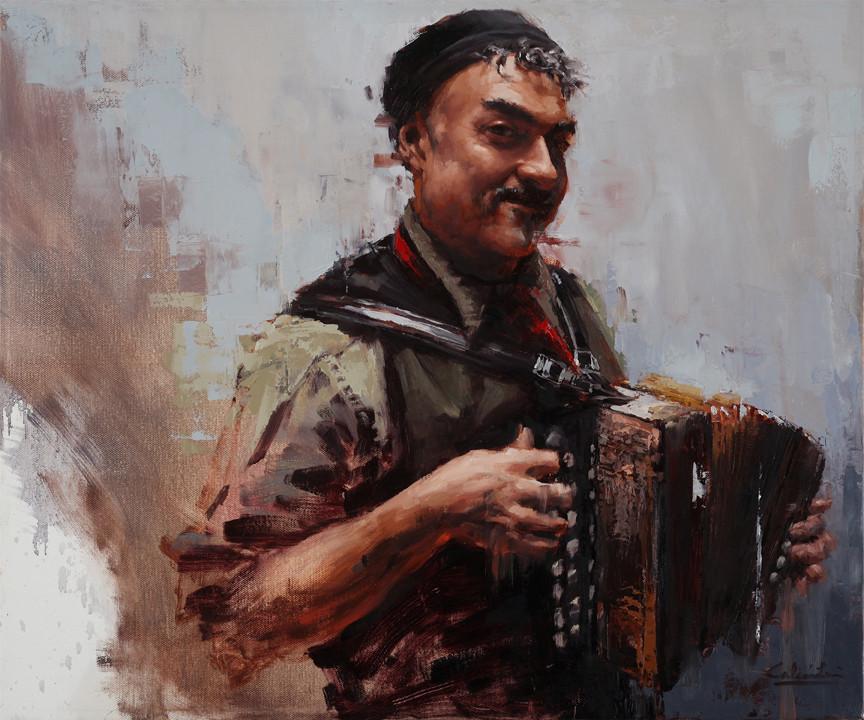 Artistic Evolution Through Portrait Painting | Half Clown, Half Pirate, Half Prince Stage 4