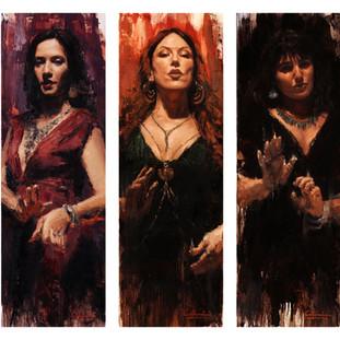 Sirens Triptych