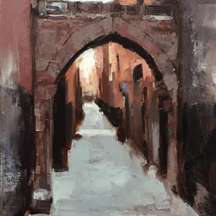 Alley in Marrakesh