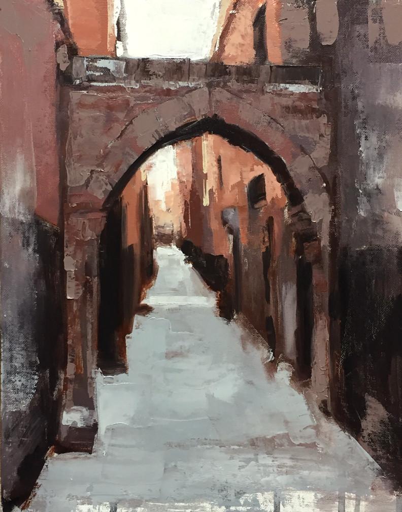 How a San Francisco Cityscape Artist Experiences Marrakech