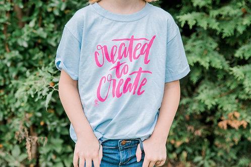 Girls' Created to Create T-Shirt