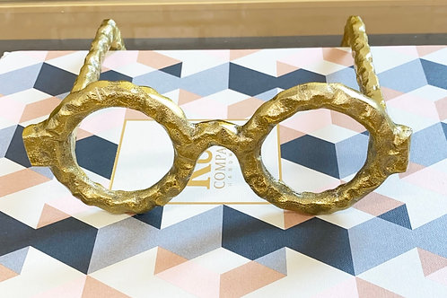 Round Gold Glasses