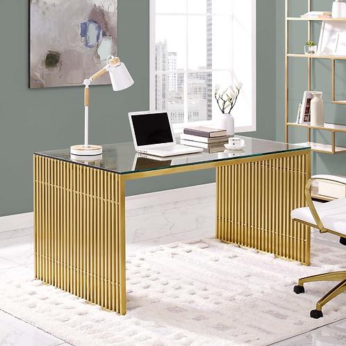 Gold Statement Desk