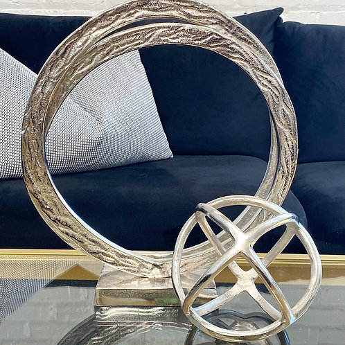 Double Ring Sculpture