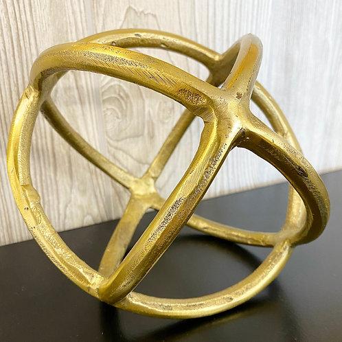 Decorative Orb Sculpture