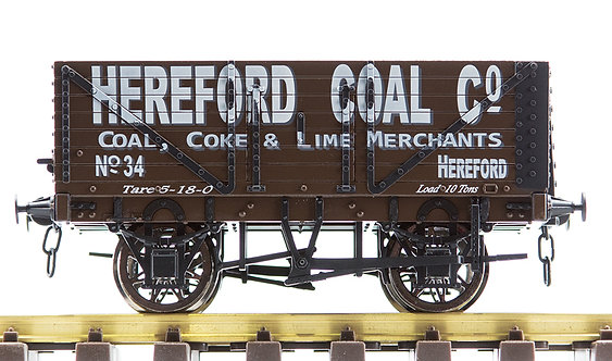 R32-1LX Plank Wagon - 'Hereford Coal', 1 car