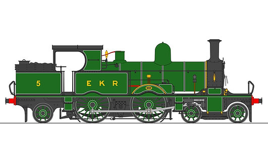 1:32 S32-15E Adams Radial Tank, EKR Lined Ashford Green #5, RTR