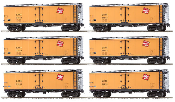 AM32-517 PFE Reefer - Milwaukee Road (URTX Reporting Marks), 6 car set
