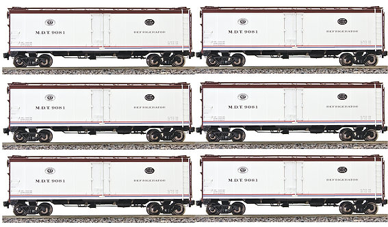 AM32-512 PFE Reefer - New York Central (Merchant Dispatch) 6 car set
