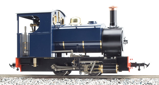 S19-31BU Sabrina 0-4-0ST, Blue, Live Steam