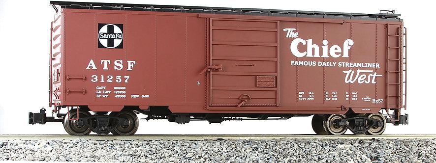 G401-10B PS-1 Box Car - Santa Fe, Chief #31257, 1 car
