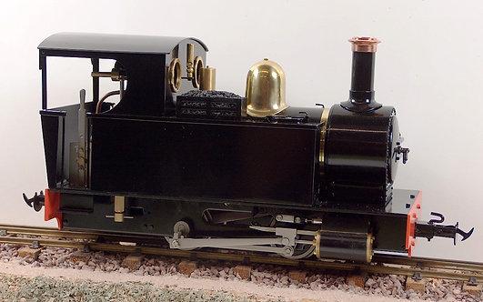 S19-12 Ragleth 0-4-0T Black, Live Steam, New