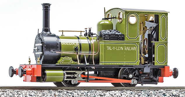 S19-32B 'Dolgoch' 0-4-0T, Atlas Green, Live Steam, 32mm Gauge