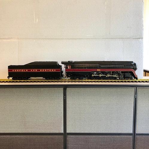 N&W J-class #611, Alcohol Fired (Open Box)