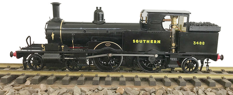 1:32 S32-15D Adams Radial Tank, SR Plain Black #3488, 'Sunshine', RTR
