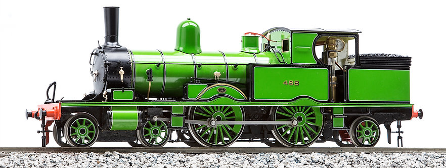 1:32 S32-15KA Adams Radial Tank, L&SWR Adams Green #488, Fully Lined, KIT