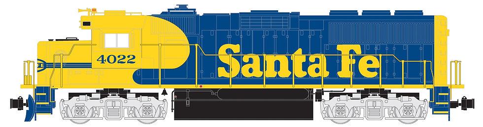 G801-01 GP60 Sante Fe, Blue/Yellow