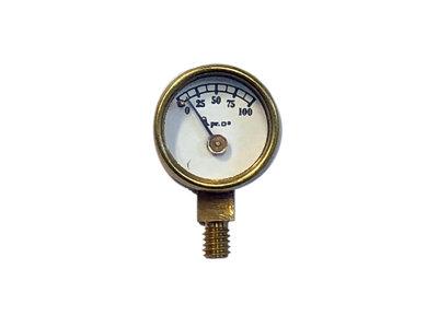 """AP21-152 Pressure Gauge 100 psi, 1/2"""" diameter"""