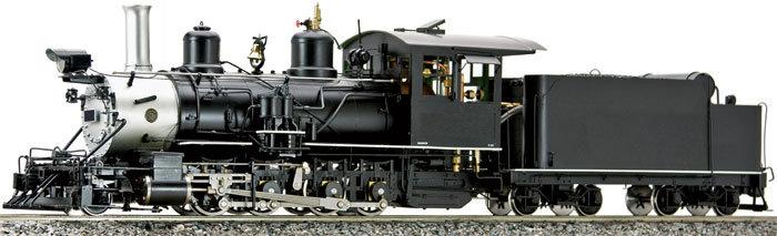 On30 - AM58-210 C-25 2-8-0 D&RGW, Unlettered, Black