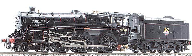 AST-107-BK BR Standard 5MT 4-6-0, Black, Kit