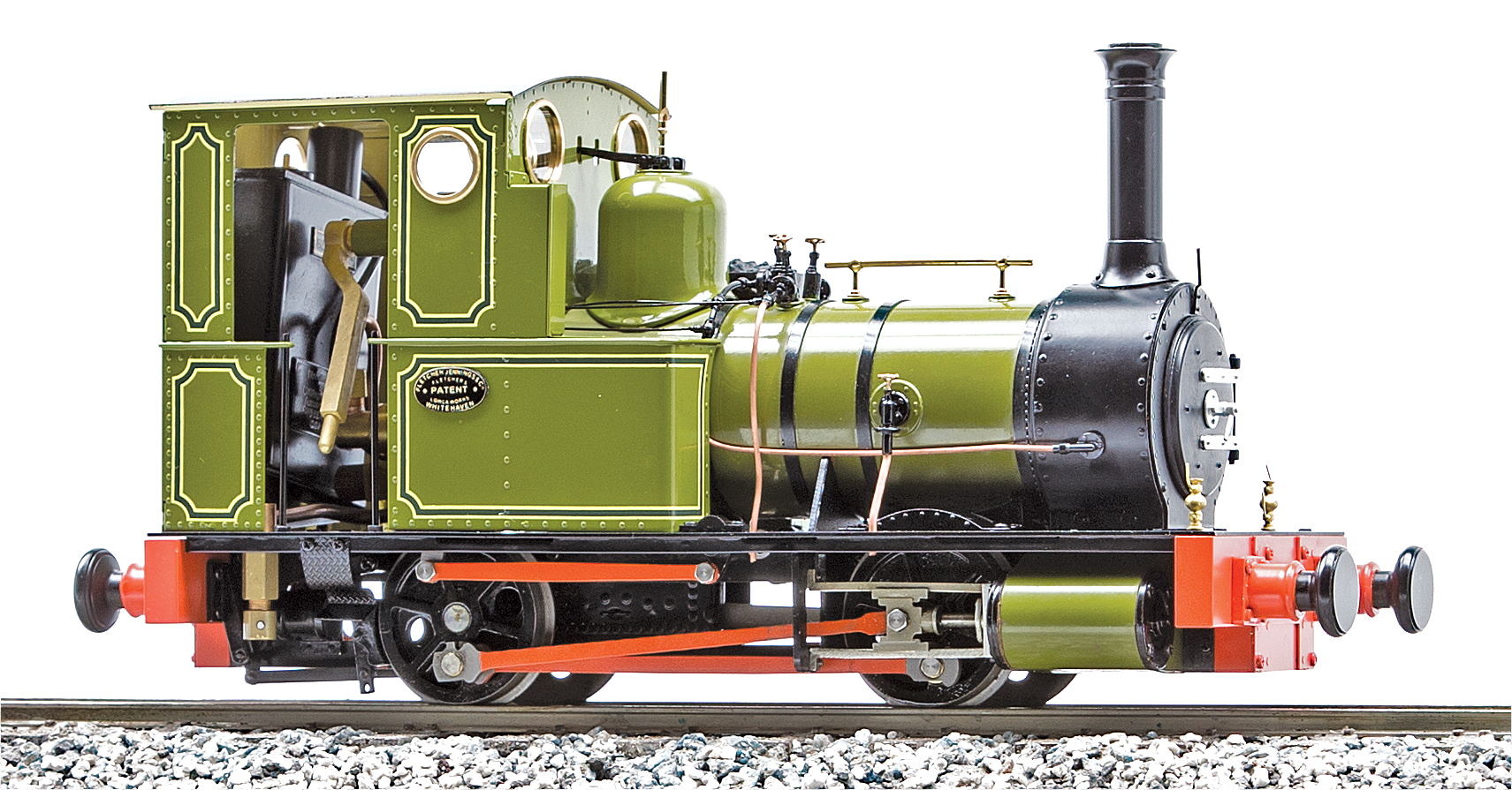 UK Dolgoch 0-4-0T | accucraft