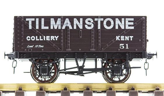 R32-1PX Plank Wagon - 'Tilmanstone Colliery', 1 car