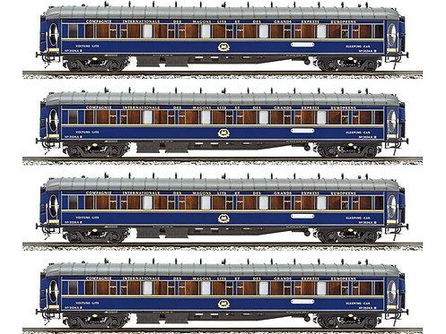 "JM101 - CIWL Sleeper Car ""Train Bleu"", 4 car set"